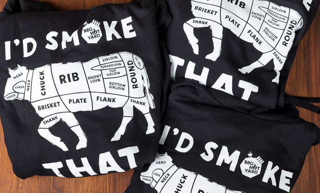 I's smoke that - BBQ Hoodie