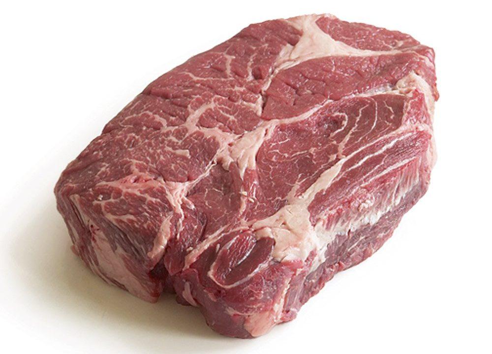 Eye of the chuck steak
