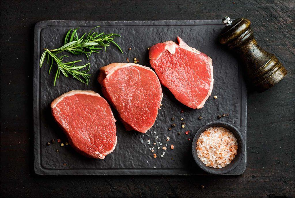 Eye of the round steak
