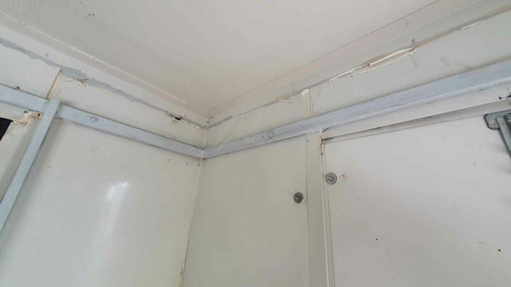 Sanacija unutrašnjih zidova food truck
