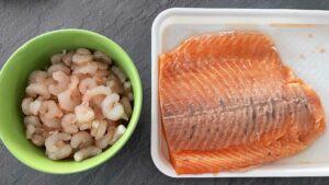 Burger od lososa i kozica - recept 2