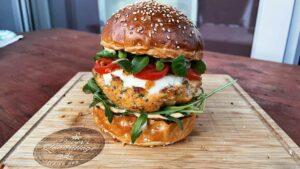 Burger od lososa i kozica - recept 12