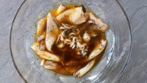 Salata od lignji s kvinojom i mangom - recept 3